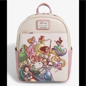 New Disney Princess Sketch Mini Backpack